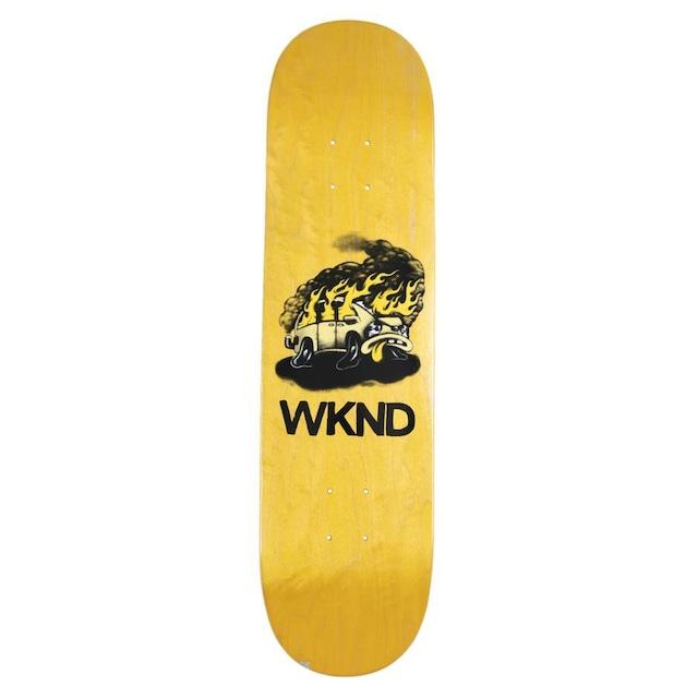 WKND SKATEBOARDS VAN DOWN ASSORTED VENEERS -YELLOW 8.25