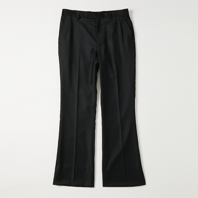 "【product almostblack】""PPT02 flare slacks"""