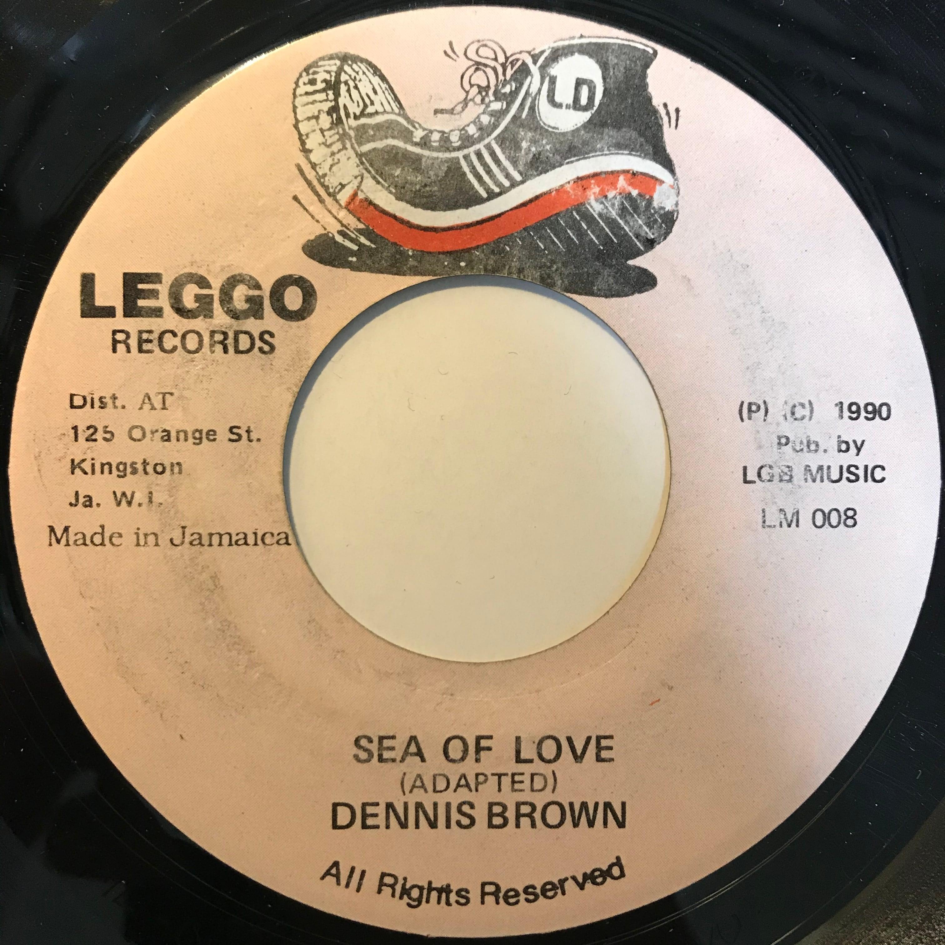 Dennis Brown - Sea Of Love【7-10816】