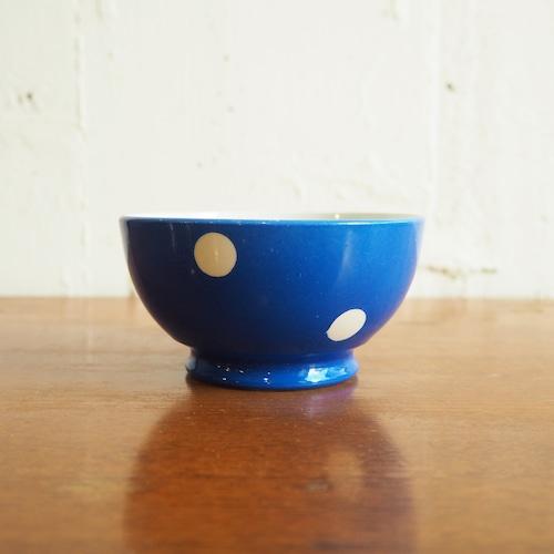 longchamp(ロンシャン)の青い水玉ボウル ミニ