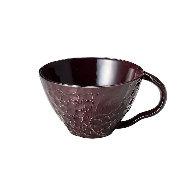 aito製作所 「リアン Lien」スープカップ 約12cm 330ml パープル 美濃焼 267828