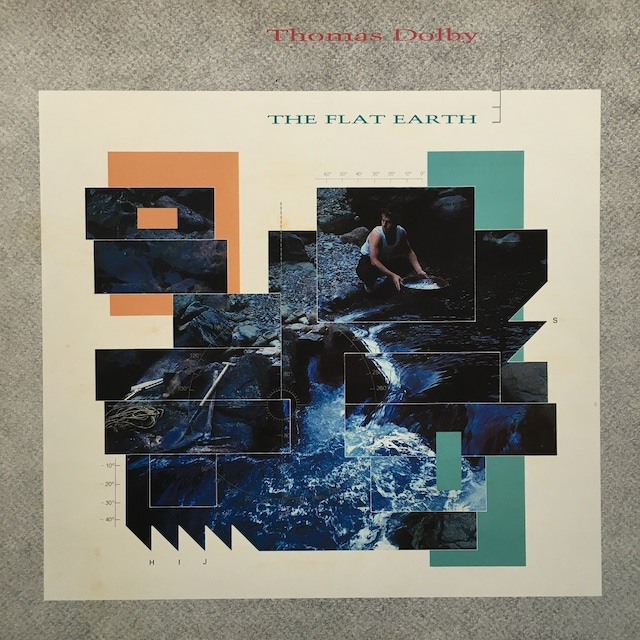 【LP・英盤】Thomas Dolby  /  The Flat Earth