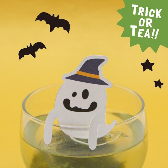 いたずらゴーストの玉露茶|ハロウィンおばけのティータグシリーズ