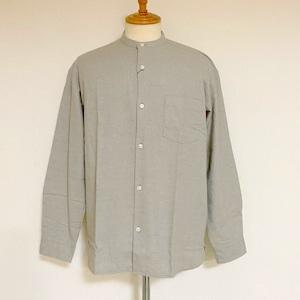 Thermolite® Viyella Band Collar L/S Shirts Beige