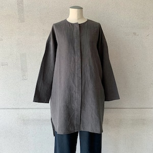【evam eva】linen shirts/E213T011