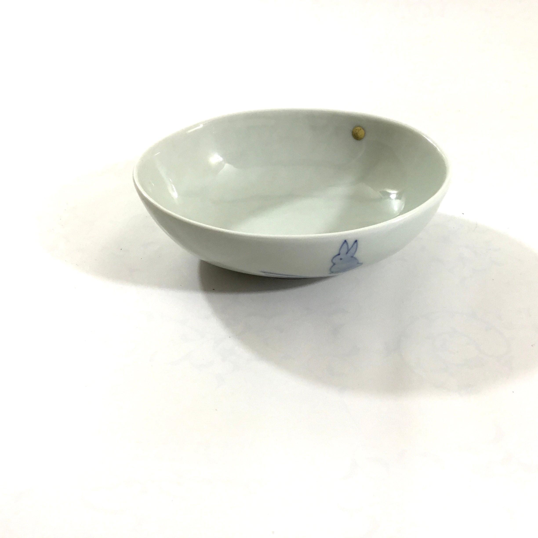 月兎楕円小鉢