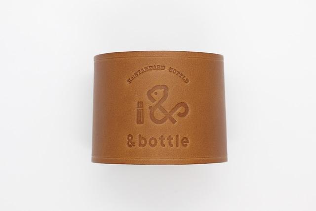 &bottle(アンドボトル)革スリーブ