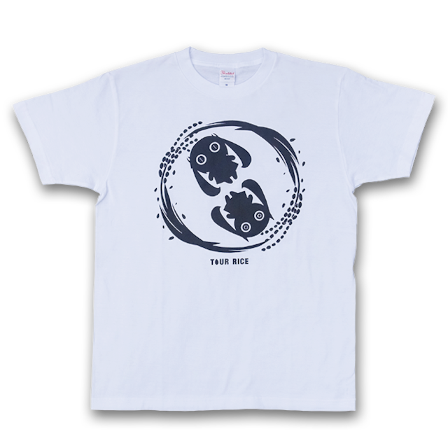 ピノキオピー 銀シャリTシャツ(メンズ/白米バージョン) - メイン画像