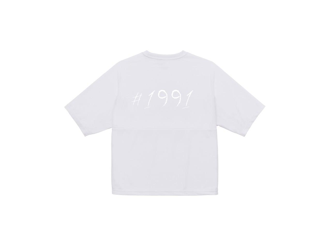 1991 dry big T-shirts (WH)