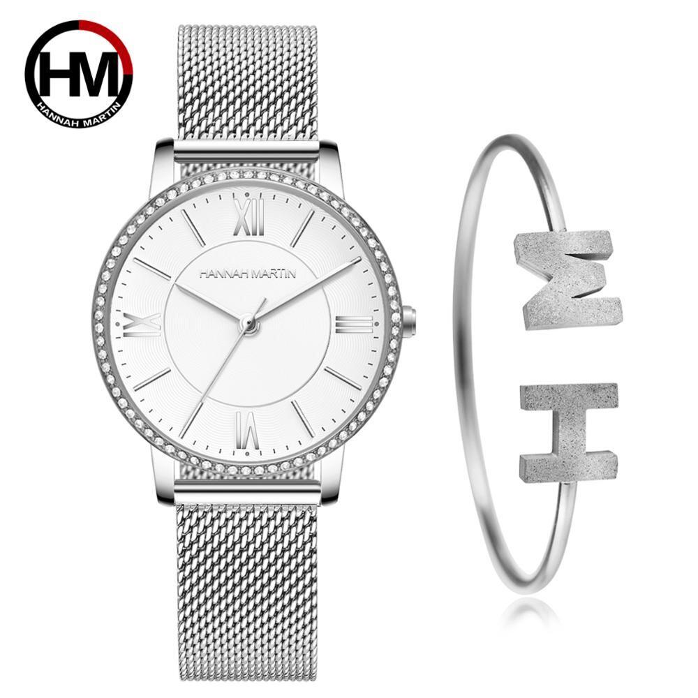 洗練されたエレガントなダイヤモンド高品質の超薄型女性ステンレススチールメッシュ防水女性女性時計ドロップシッピング1072WY-SZB