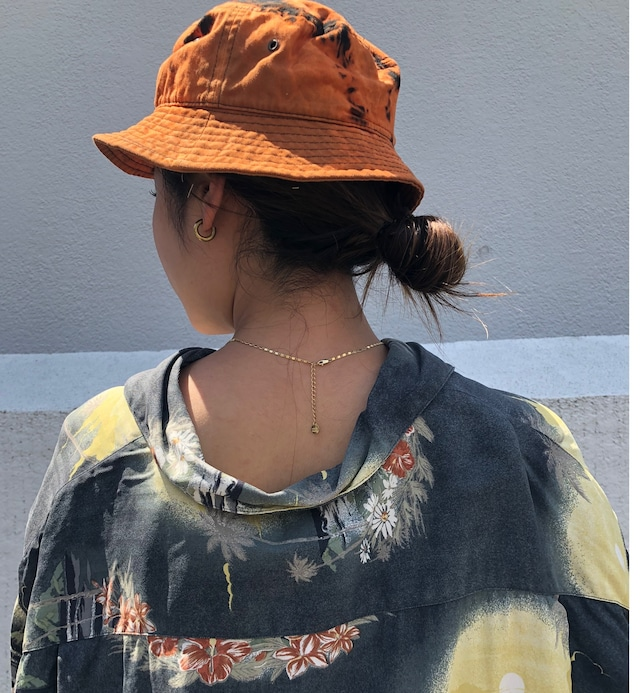 bleach tie-dye bucket hat