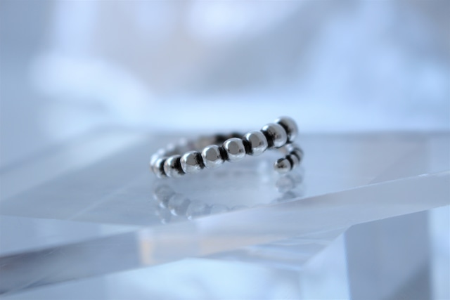 Vo.04【  ORB  】×  chain ring × 925silver × free