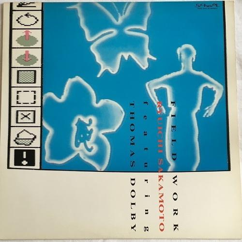 【12inch・国内盤】坂本龍一・フューチャリング・トーマス・ドルビー / フィールド・ワーク