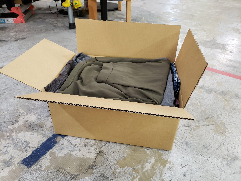 ●カスタマイズ古着MIX●(100サイズ梱包)レディースパンツ古着MIX●古着衛門店頭品質●大量/業販/仕入れ/卸/福袋