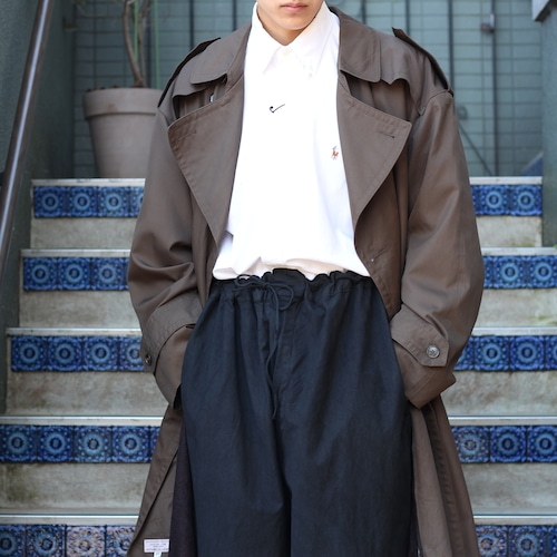 .Christian Dior OVER SIZE TRENCH COAT WITH WOOL LINER/クリスチャンディオールオーバーサイズウールライナー付トレンチコート2000000055671