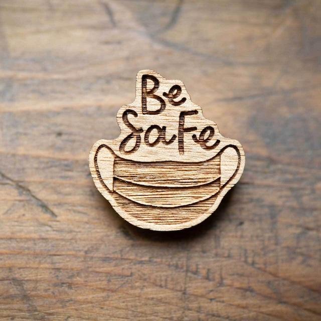 be safe / マスク(Brooch)