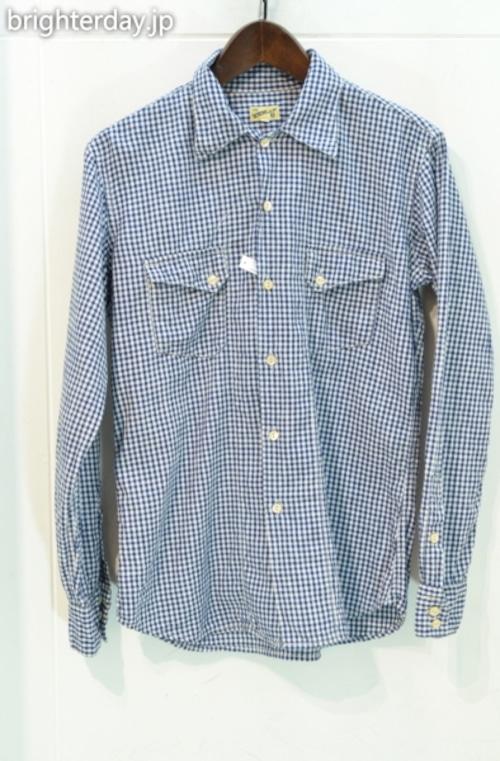 THE Y.M.WALK ON チェックシャツ