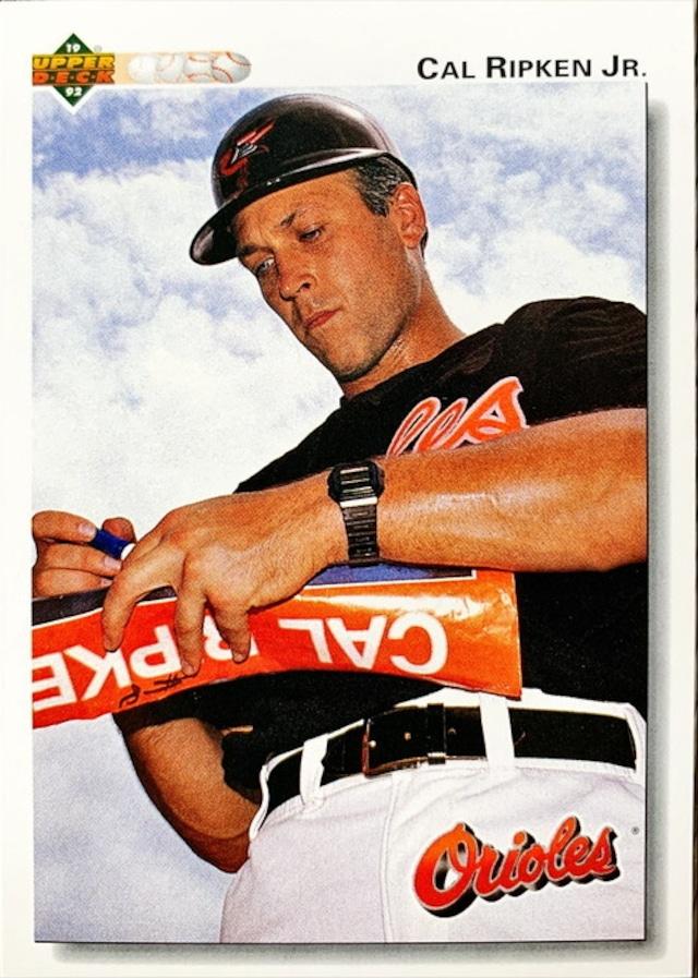 MLBカード 92UPPERDECK Cal Ripken Jr #165 ORIOLES