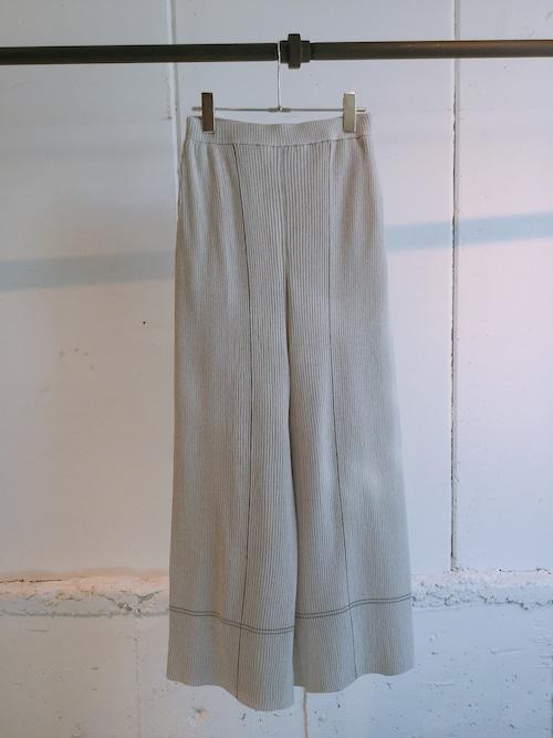 TAN   STICH RIB PANTS (LIGHT GRAY)