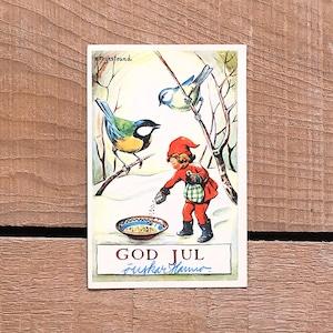 ミニ・クリスマスカード「Kerstin Frykstrand(シェスティン・フリュークストランド)」《201126-05》