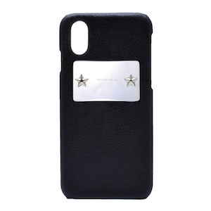 enchanted.LA STAR STUDDED MIRROR PLATE COVER CASE