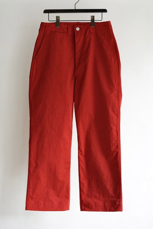 <SOLD OUT>TUKI - field trousers (red)