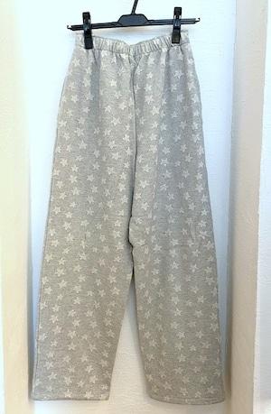 Oviedo / Star Sweat Pants Light Gray