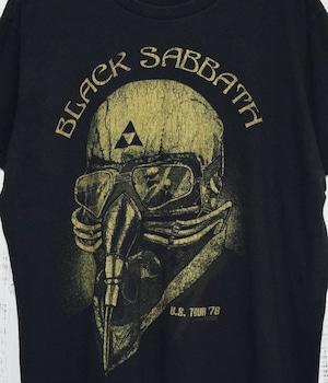 USED BAND T-shirt T-Black Sabbath US TOUR 78-