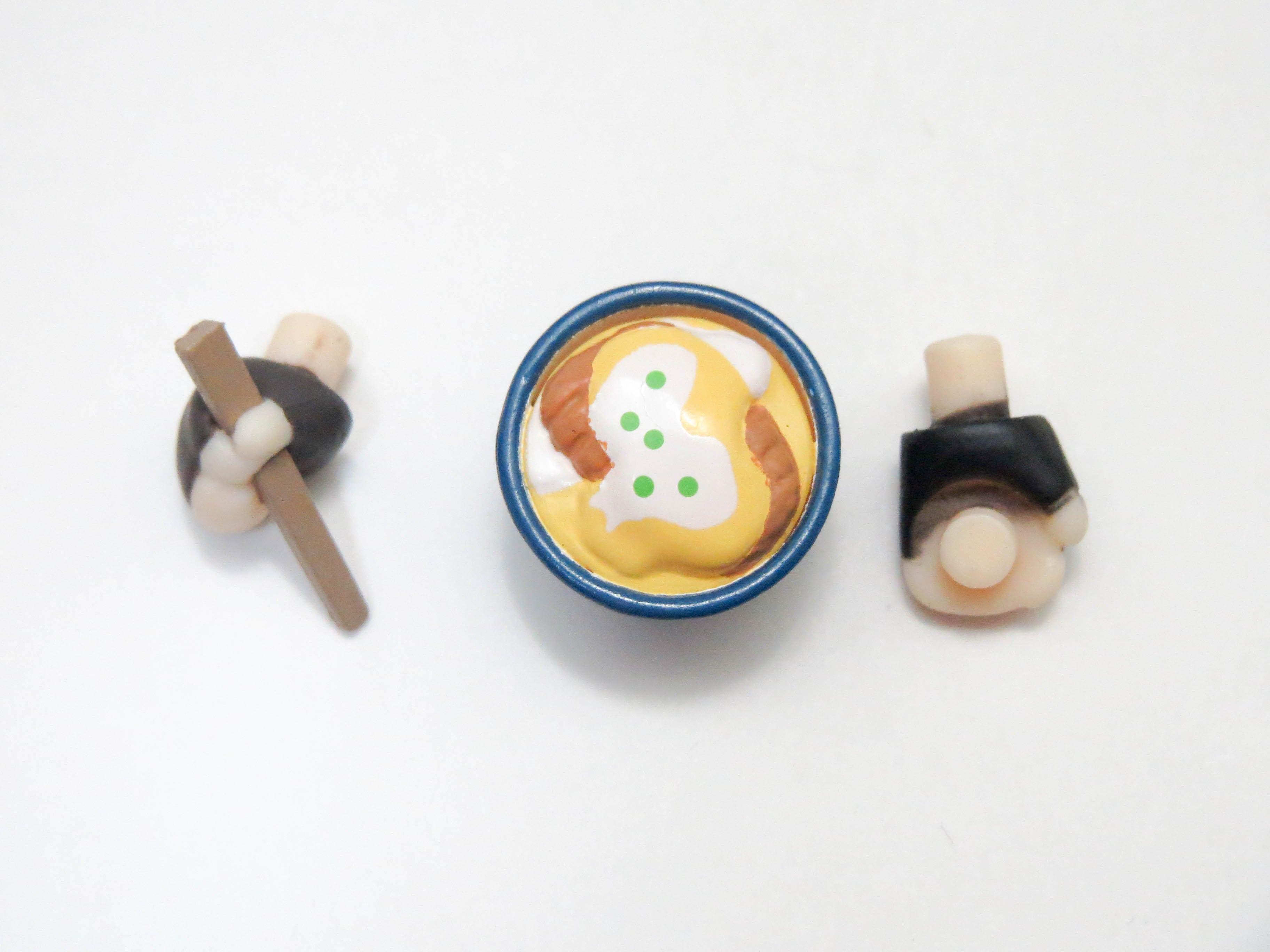 再入荷【736】 勝生勇利 小物パーツ カツ丼とお箸 ねんどろいど
