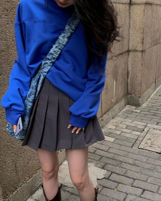 カジュアルプリーツスカート