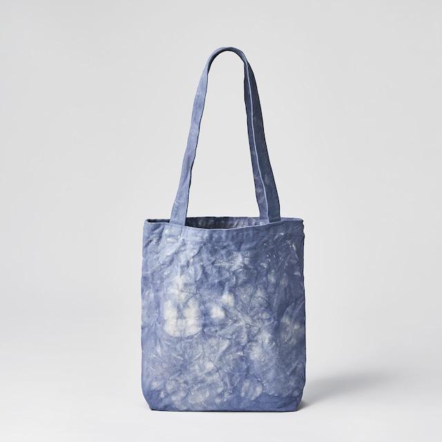 天日干し帆布のトートバッグ(ブルー)