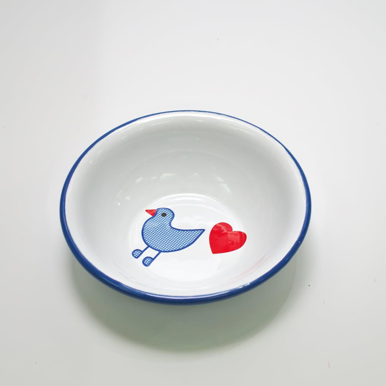 青い鳥 シリアルボウル