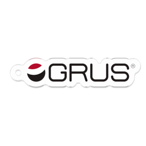 GRUS(グルス) ロゴキーホルダー