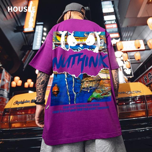 【トップス】半袖通学男女兼用カジュアルかっこいいファッションTシャツ49882464