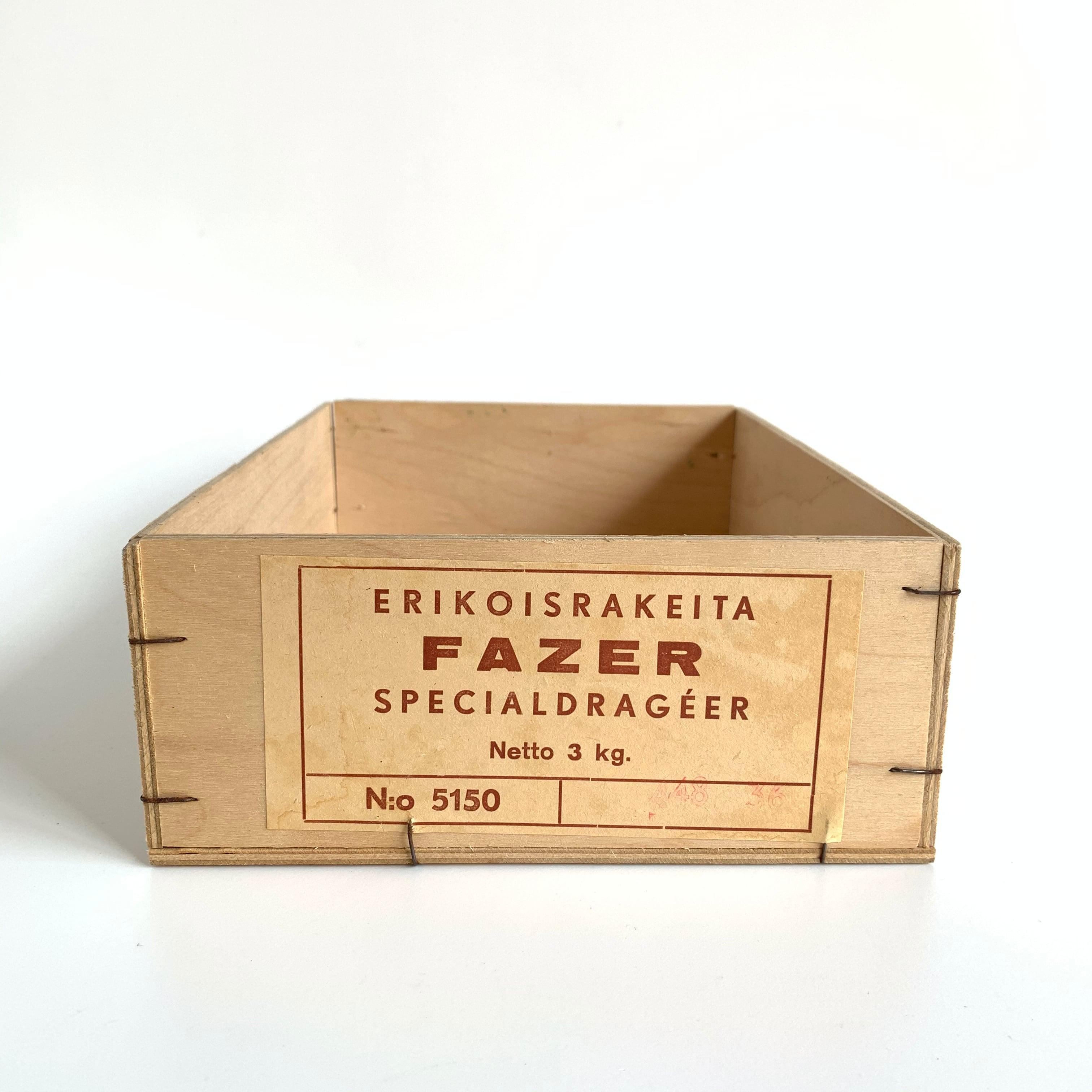 FAZER Box / ERIKOS RAKEITA