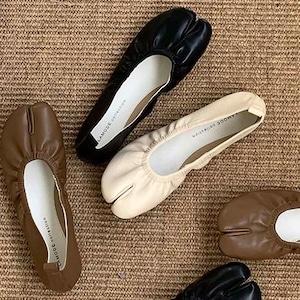 Tabi flat soft shoes(タビフラットソフトシューズ) a-654