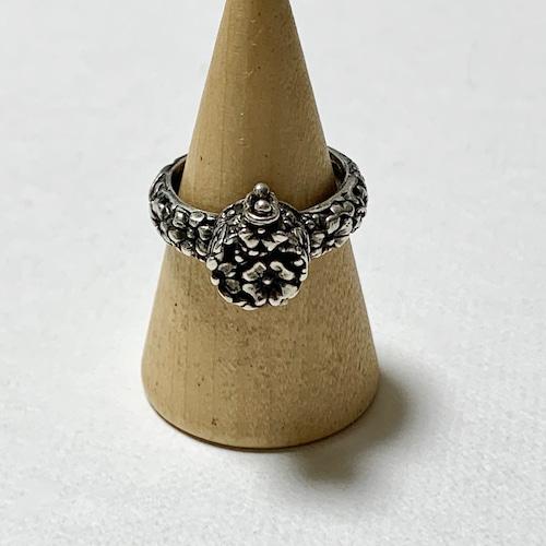 Vintage Floral Poison Ring
