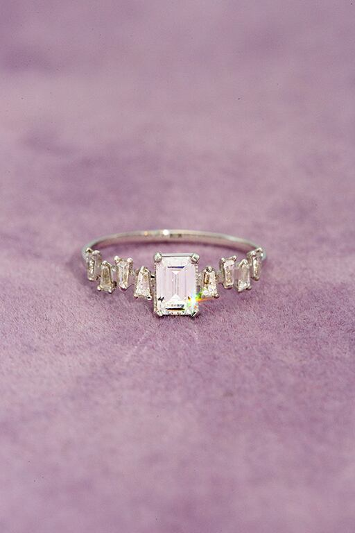 the baguette Ring