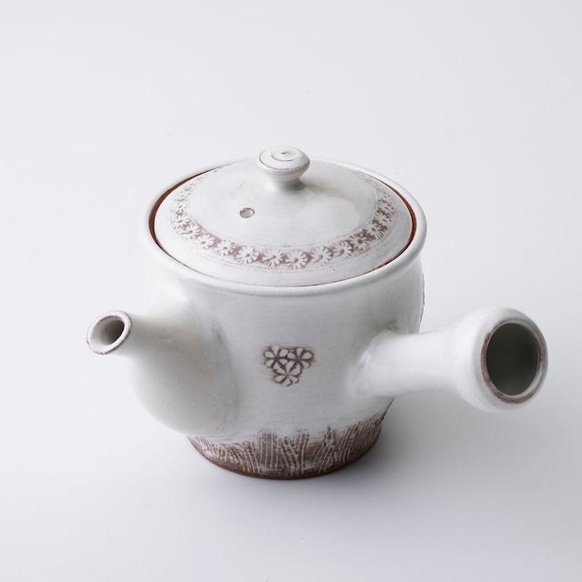 """京焼急須「花三島」 Kyo-ware teapot""""HANA MISHIMA"""""""