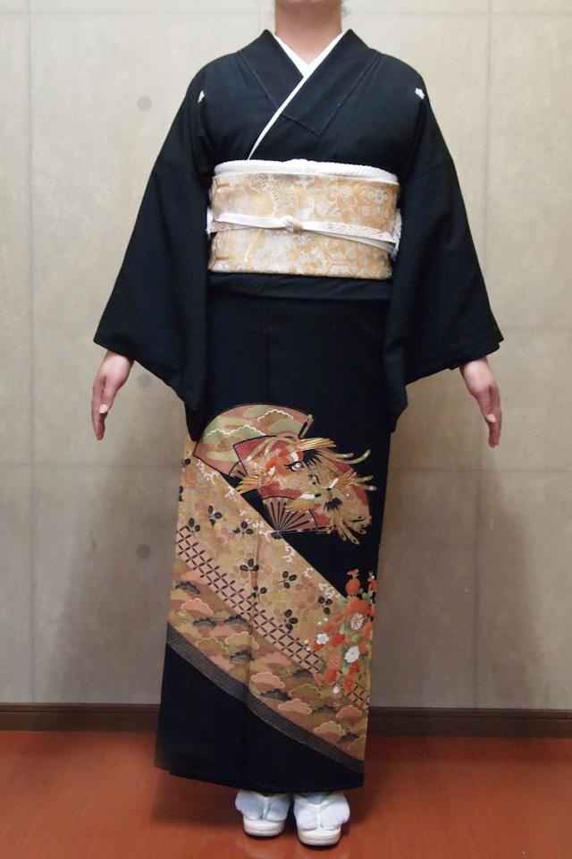 【レンタル】黒留袖 TAM-9(Mサイズ)