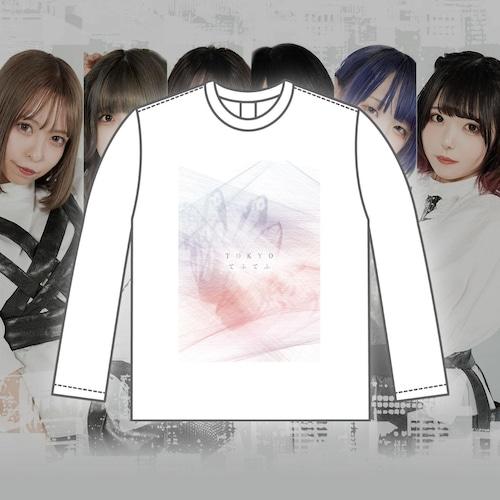 TOKYOてふてふ ephemeral line ロングTシャツ