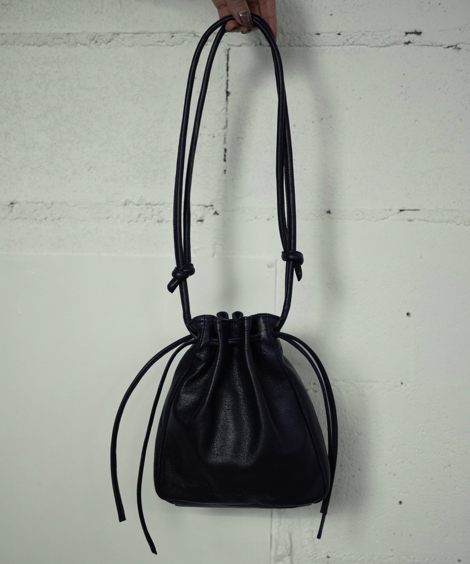 RETHINK LEATHER BAG (NAVY)