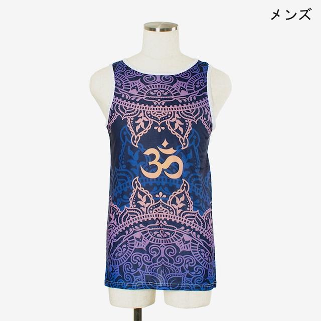 ヨガプリントタンク オム1 メンズ/ユニ Men's Yoga Print tank top Om1