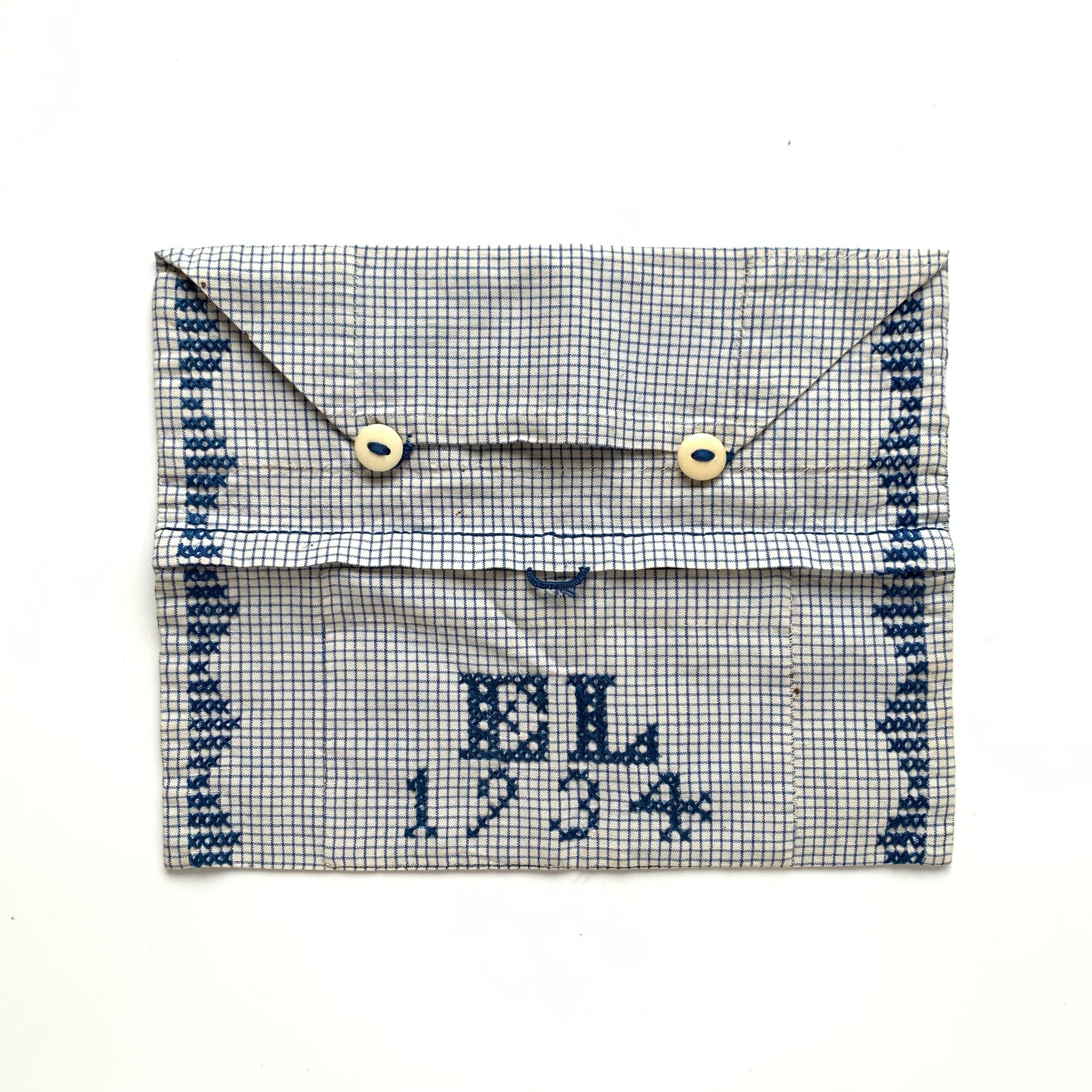 Embroidered Storage pouch