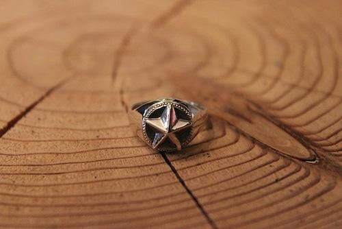 【OCEANS オーシャンズ 8月号 No.125/P.86 掲載品】Designers Jewelry buff スターピンキーリング【オーシャンズ 8月号  掲載品】