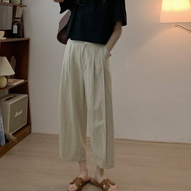 Semi wide pants KRE949