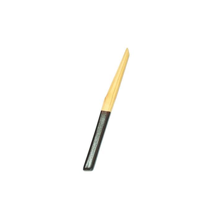 檜チーク柄塗菓子切楊枝 【42-025】