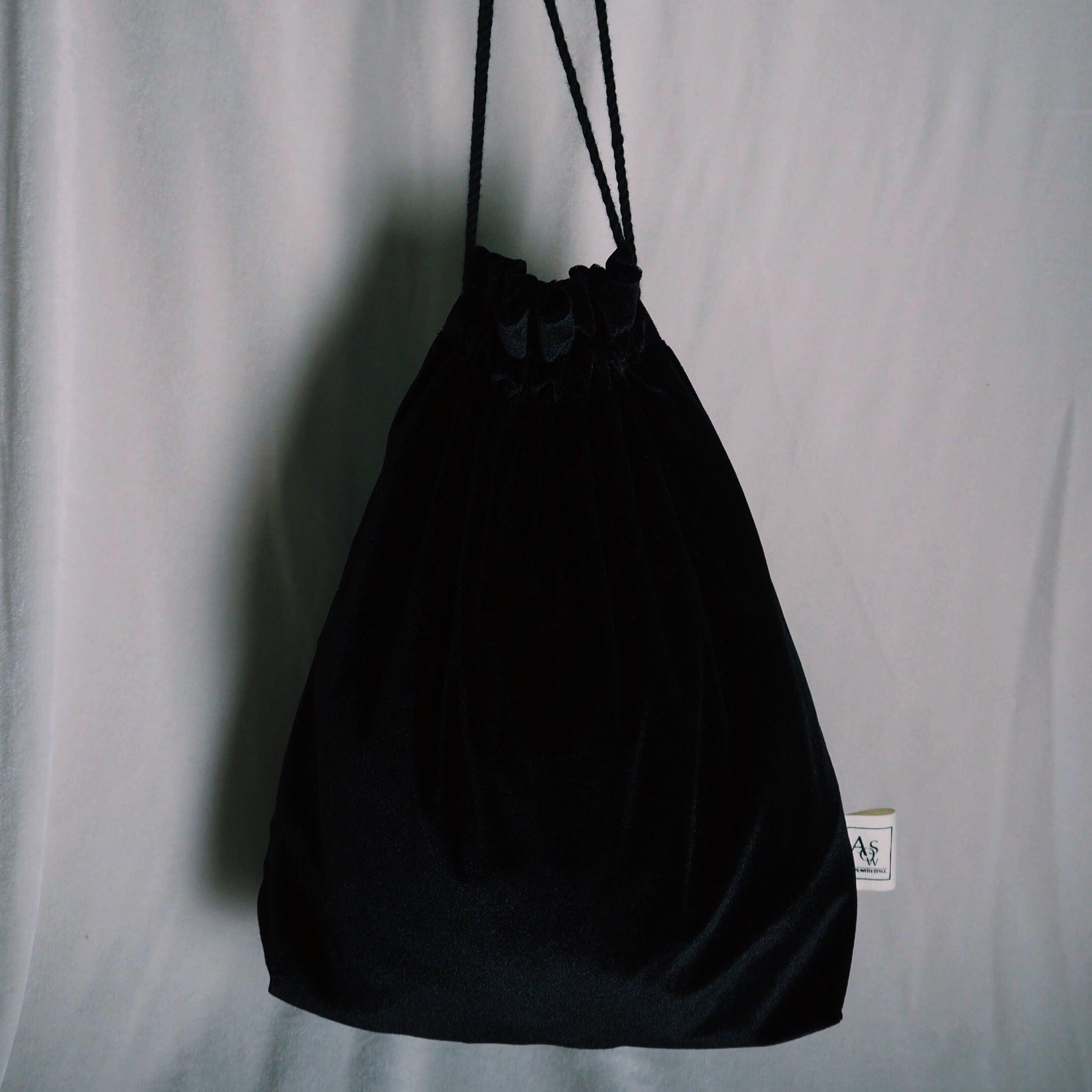 easy velour bag