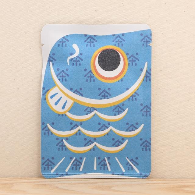 鯉のぼり茶(青)|ごあいさつ茶