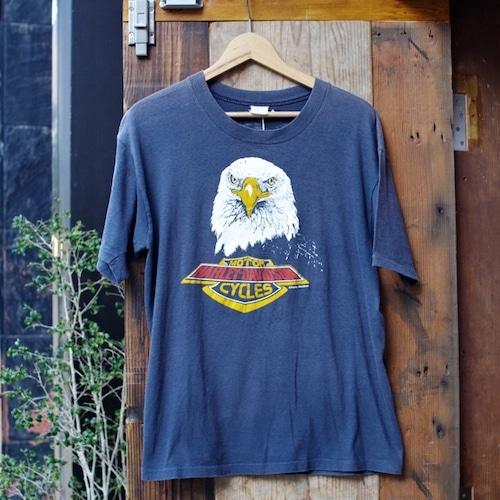1970-80s Harley Davidson Vintage T-Shirt / ハーレー ヴィンテージ イーグル Tシャツ 古着